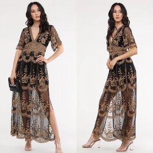 The Golden Hour Maxi Dress